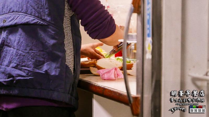 明峯早餐店【桃園美食】|桃園區超人氣排隊肉排早餐店;老桃園人推薦,來桃園一定要吃的肉排吐司 @黃水晶的瘋台灣味