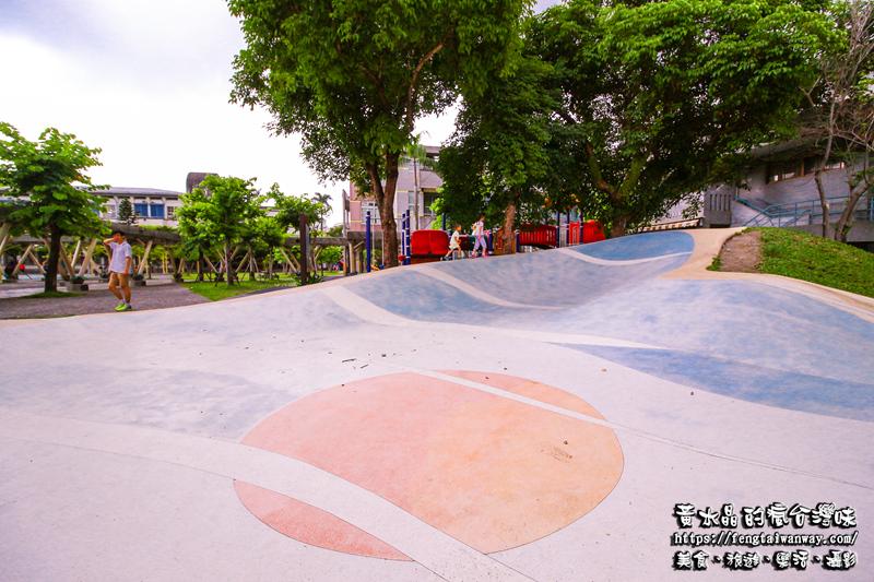 宜蘭中山國小【宜蘭景點、特色小學】|宜蘭市區接近幾米公園,沒有圍牆好停車的『碗公溜滑梯親子景點』 @黃水晶的瘋台灣味