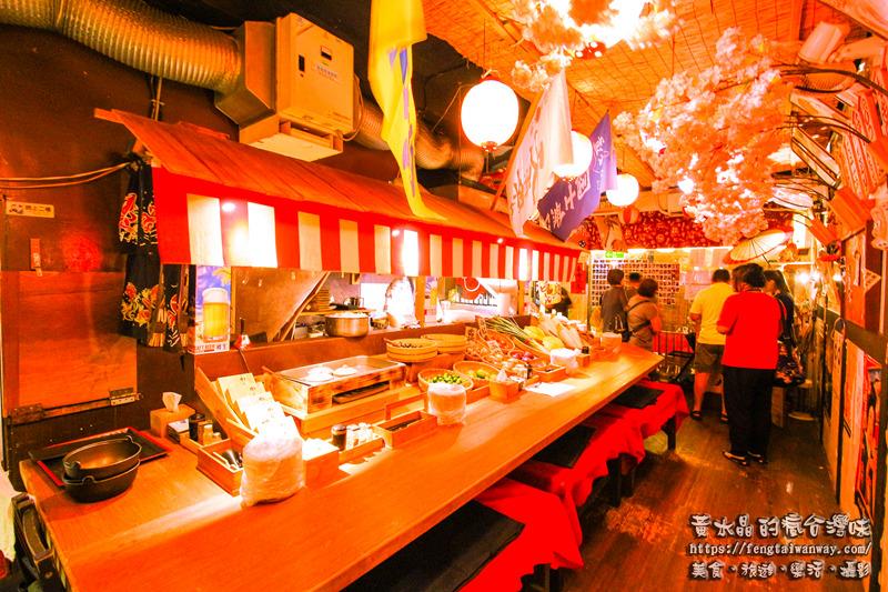 丸太。屋台風浜燒場【基隆美食】|有日本味氛圍的高CP值雙層大份量生魚片丼飯;食尚玩家、愛玩客、旅行應援團相繼推薦。