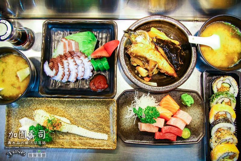 加園壽司【基隆美食】|基隆市仁愛區仁愛市場老饕級的日本料理;別再說美食在基隆廟口了 @黃水晶的瘋台灣味